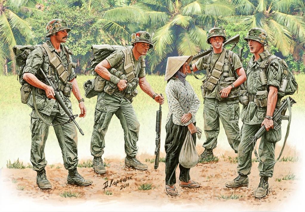 Vietnam Kit coming soon from MasterBox - Boxart 1st_Cavalry_Vietnam_3